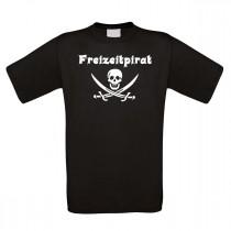 Funshirt weiß oder schwarz - Freizeitpirat