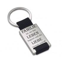 Lieblingsmensch Schlüsselanhänger Modell: Familie ist...