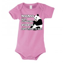Kinder - Babybody Modell: Mama war schwanger