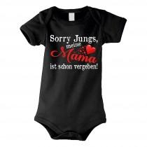 Kinder - Babybody Modell: Sorry Jungs meine Mama ist vergeben