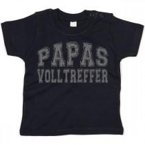 Kinder - Babyshirt Modell: Papas Volltreffer