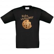 Kinder T-Shirt Modell: Keksvernichter
