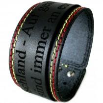Gravur Leder Armband 4 cm - Deutschland