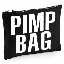 Baumwoll Canvas Kosmetiktasche - Kulturbeutel - Schminktasche Modell: Pimp Bag