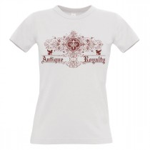 Damen T-Shirt Modell: Antique Royalty