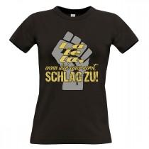 Damen T-Shirt Modell: La le lu...