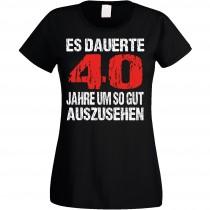 Damen T-Shirt Modell: Gut aussehen - Alter wählbar