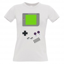 Damen T-Shirt Modell: Gameboy