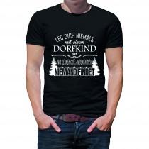Herren T-Shirt Modell: Dorfkind
