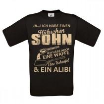 Herren T-Shirt Modell: Hübscher Sohn