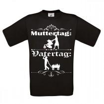 Herren T-Shirt Modell: Vatertag