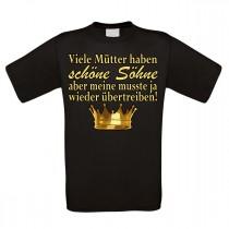Herren T-Shirt Modell: Viele Mütter haben schöne Söhne