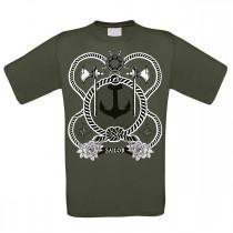 Herren T-Shirt Modell: Sailor