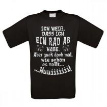Herren T-Shirt Modell: Ein Rad ab