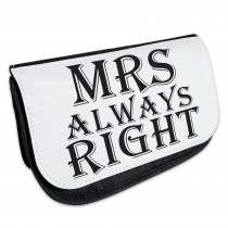 Kosmetiktasche - Kulturbeutel - Schminktasche Modell: MRS always right