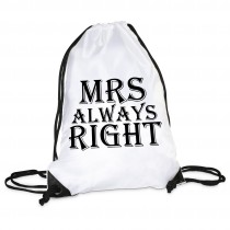 Turnbeutel Modell: MRS always right