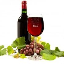 Einhorn Weinglas mit Namen - mit Personalisierung