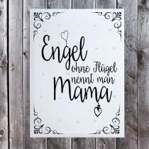 Der Adventskalender für deine Liebsten - Engel ohne Flügel nennt man Mama