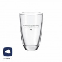 "Leonardo GIN-Glas ""Fuck Valentines day! I love you every single day!"""