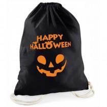 """Halloween schwarzer Süßigkeitenbeutel """"Happy Halloween"""""""
