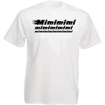 Funshirt weiß oder schwarz - Mimimimi