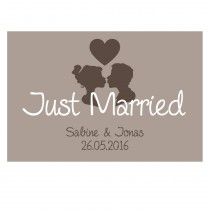 Fußmatte - Modell: Just Married