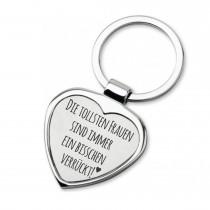 Lieblingsmensch Schlüsselanhänger in Herzform Modell: Die tollsten Frauen…