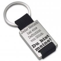 Metall Schlüsselanhänger Modell: meine Definition von Glück