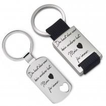 Metall Schlüsselanhänger - Du hast das was kein anderer hat