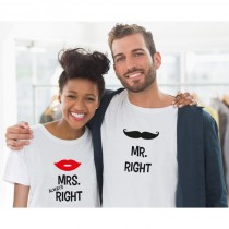 Mr Right & Mrs Always Right T-Shirts