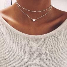Halskette mit kleinem Herz