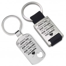 Metall Schlüsselanhänger - Ich liebe Dich für immer