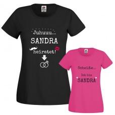 Damen T-Shirt Modell: Junggesellinnenabschied