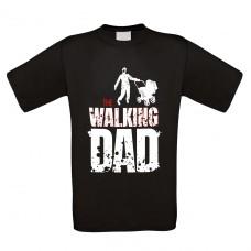 Funshirt weiß oder schwarz - The walking Dad