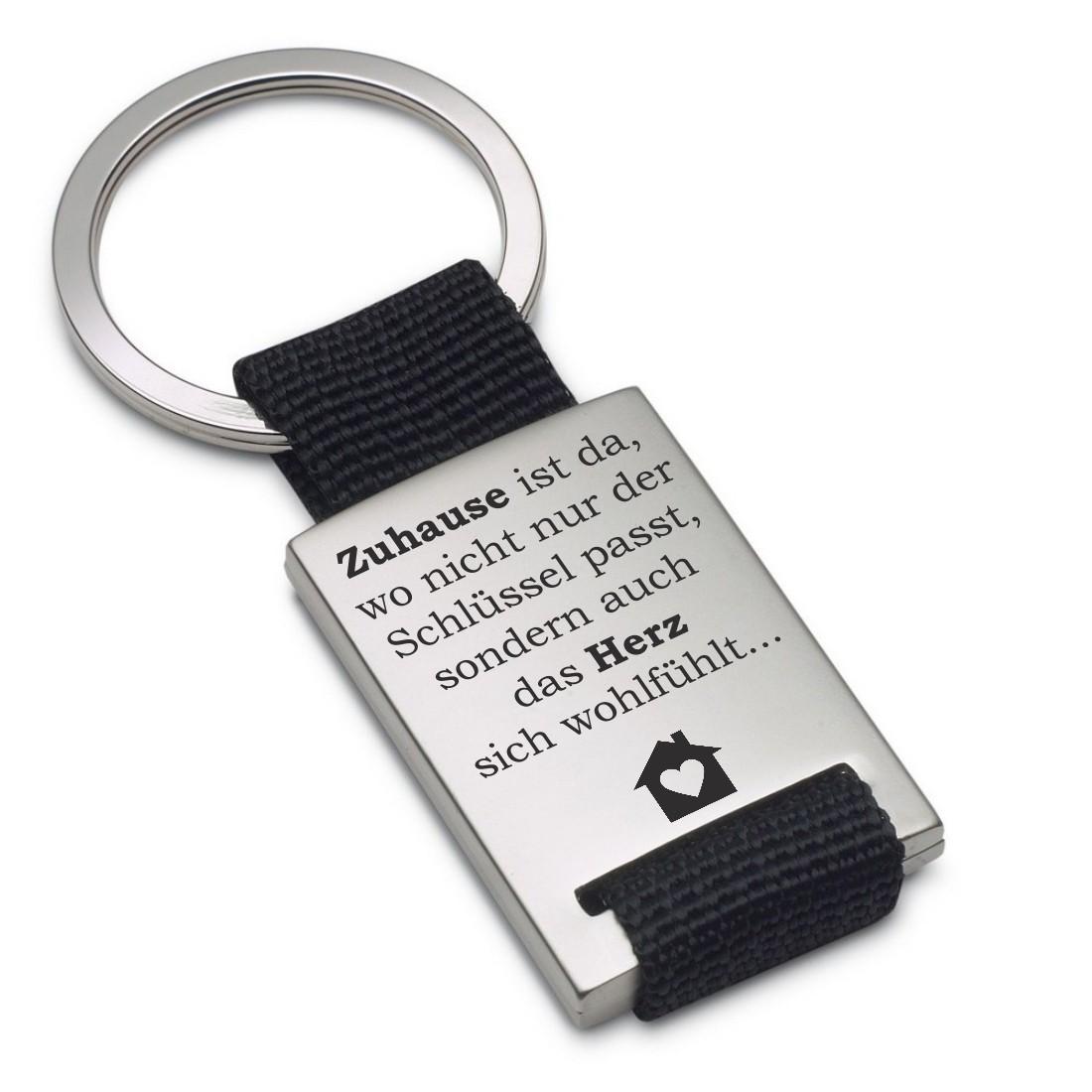 Schlüsselanhänger Zuhause