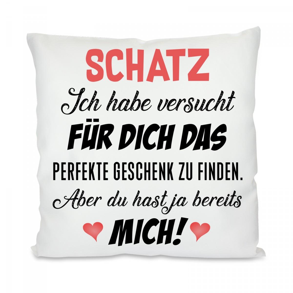 """Kissenbezug Dekokissen mit Spruch /"""" Liebe Tante.../"""""""