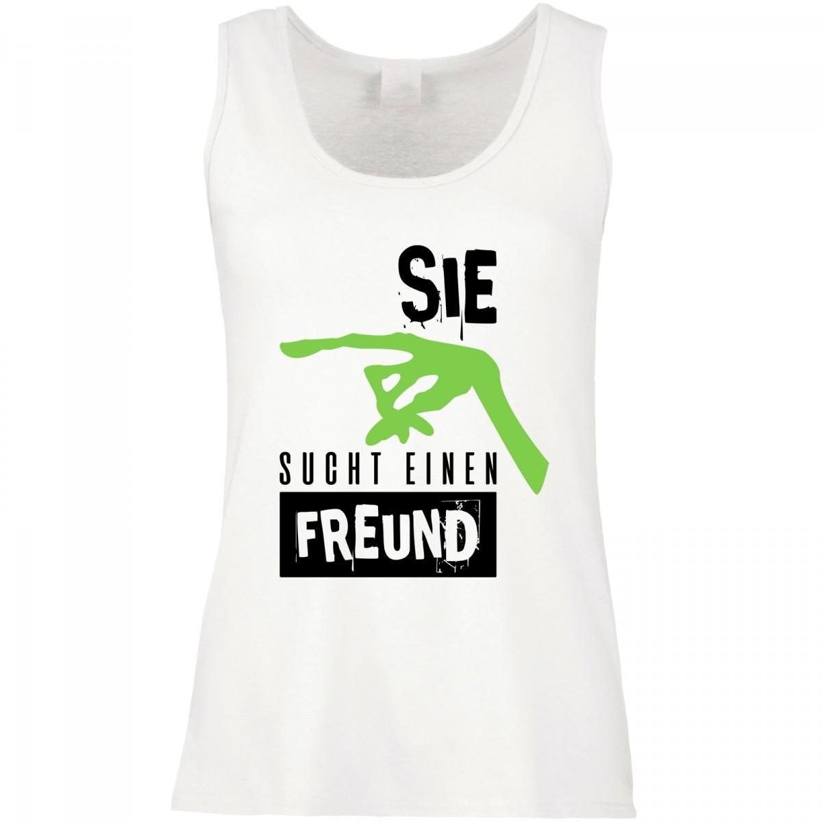 Funshirt weiß oder schwarz, als Tanktop oder Shirt - Sie