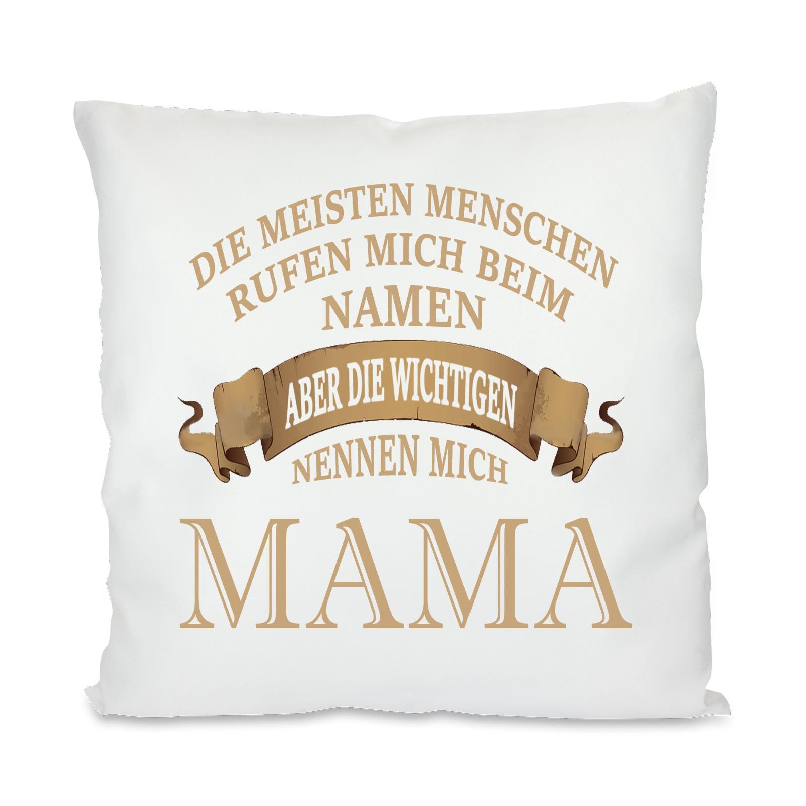 Kissen mit Motiv - Modell: Mama