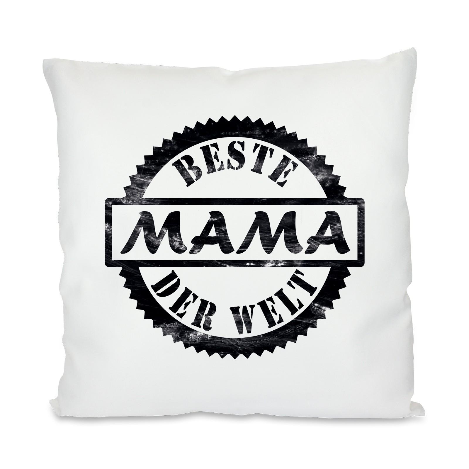 Kissen mit Motiv - Modell: Beste Mama der Welt