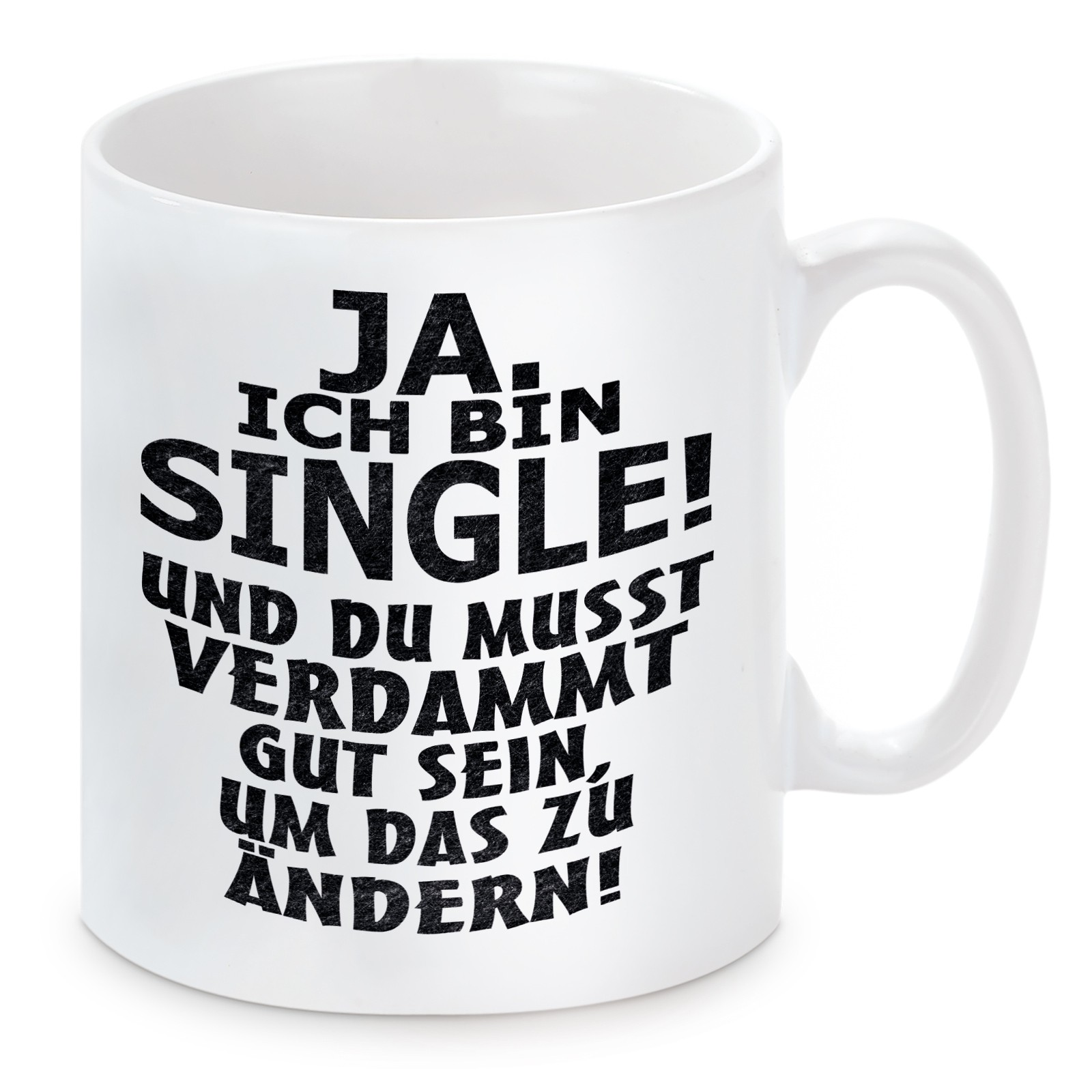 Tasse Modell: Ja ich bin Single