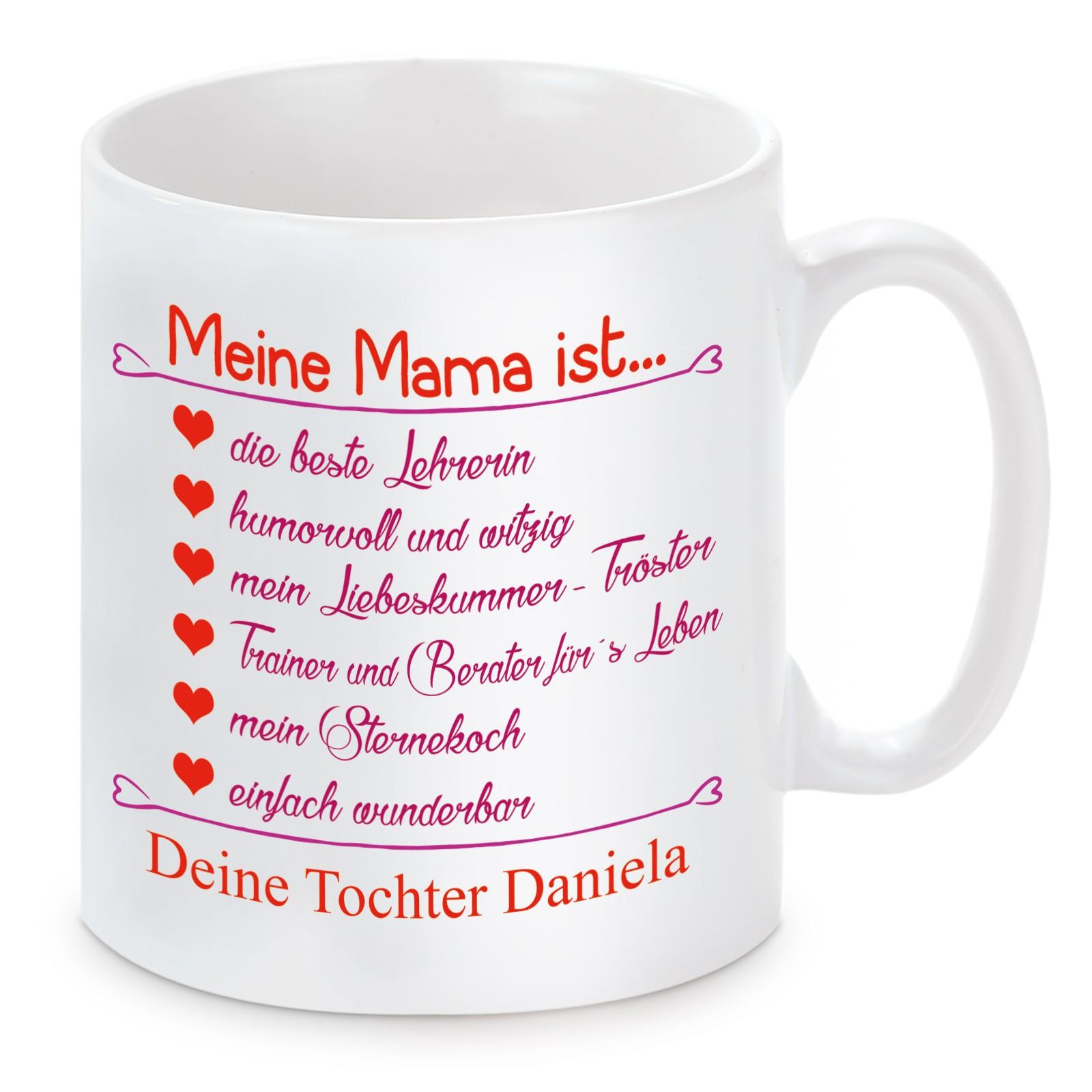 Tasse Modell: Meine Mama ist...