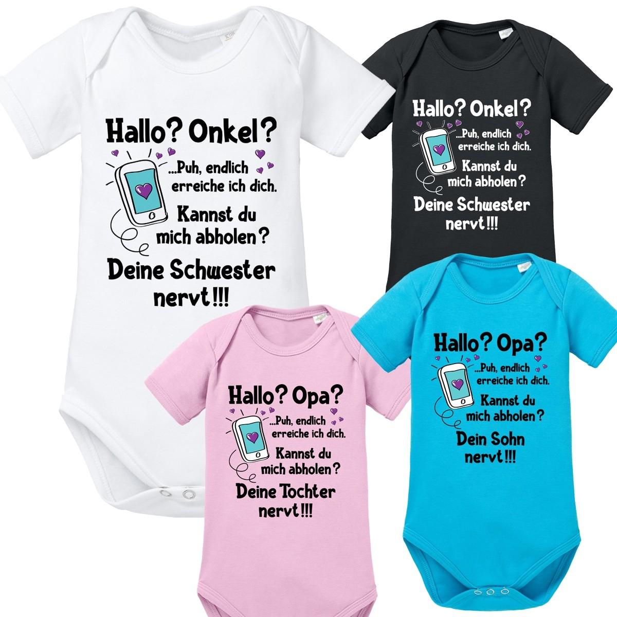 Babybody: Hallo? Onkel / Opa?
