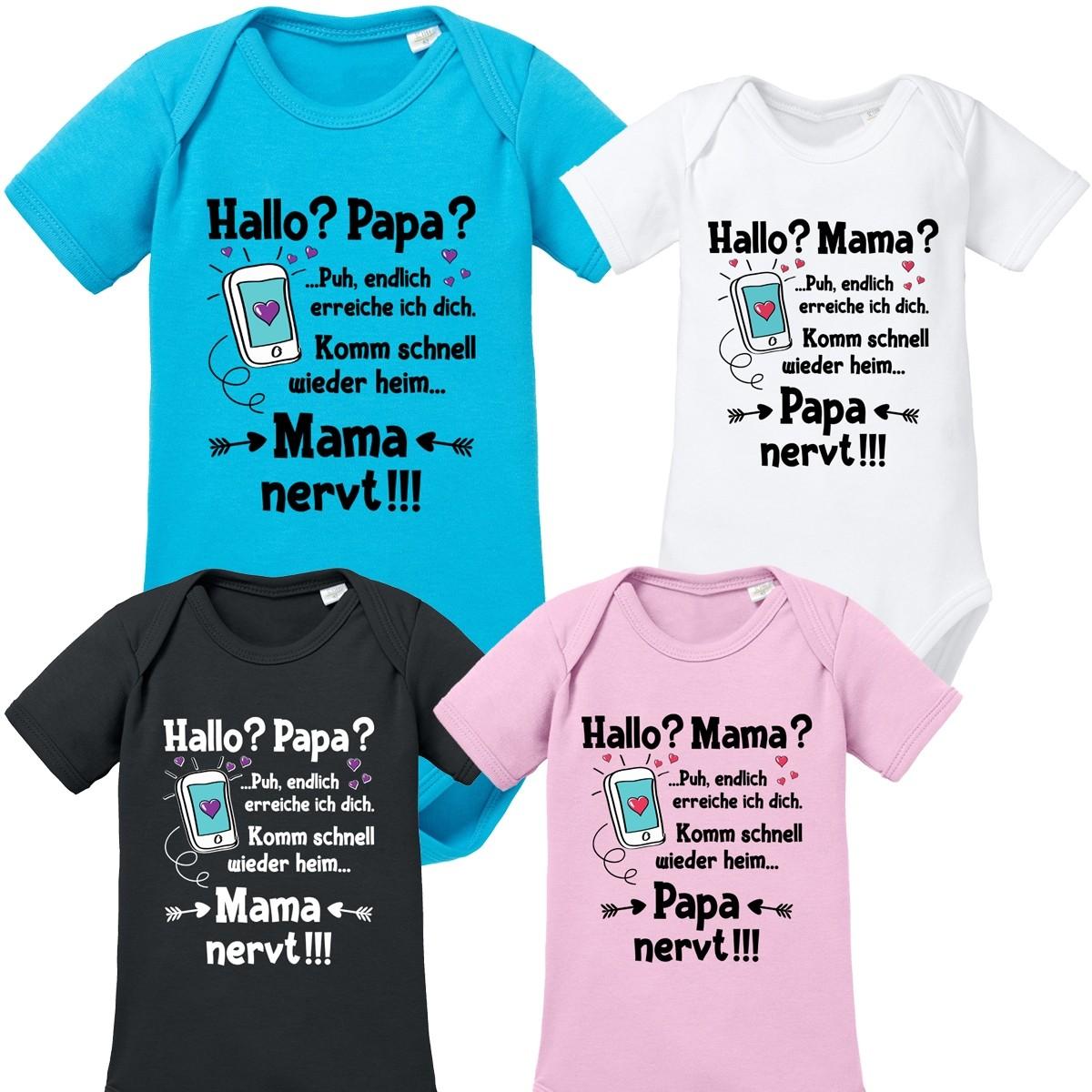 Babybody: Hallo? Mama? / Papa?