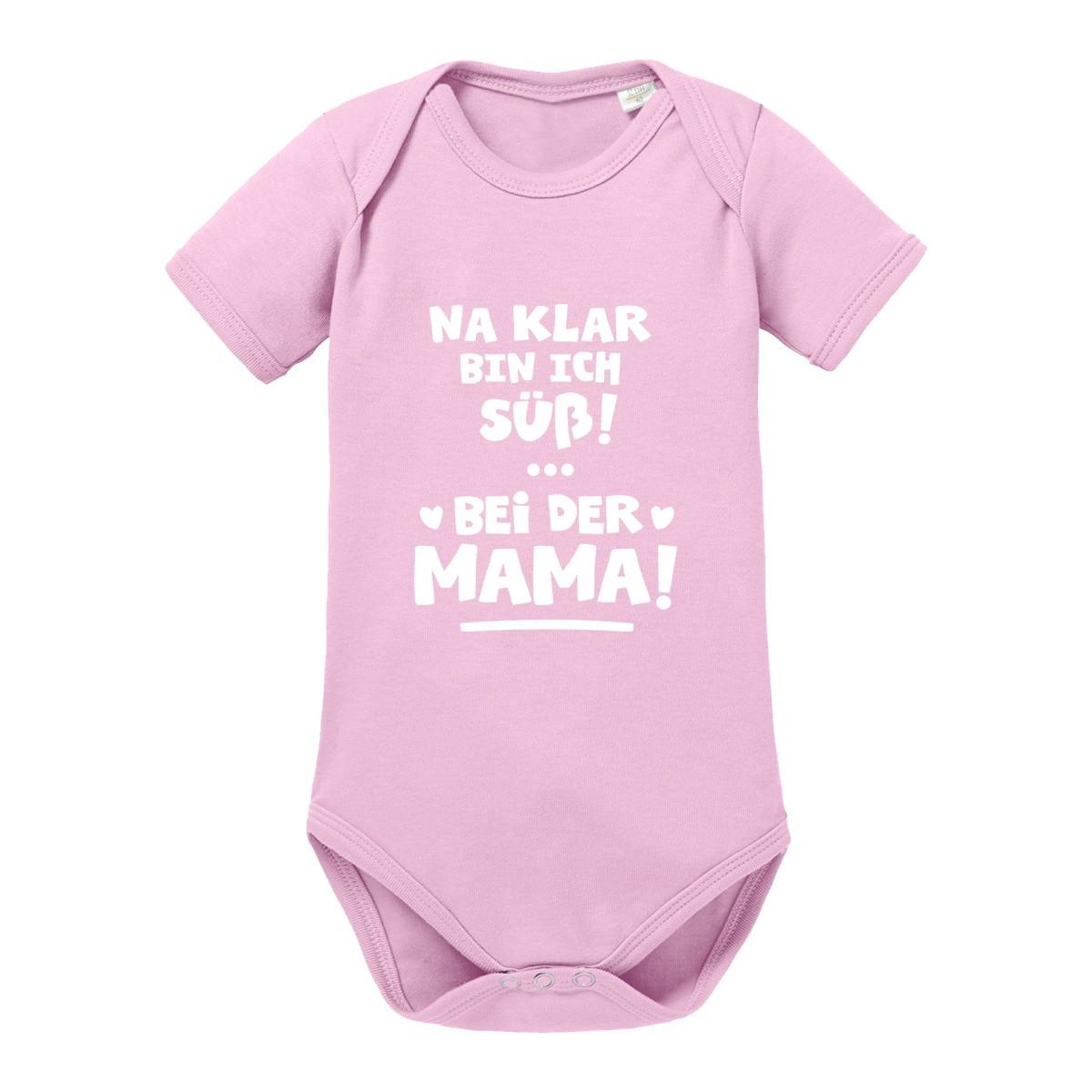 Babybody Modell: Na klar bin ich süß! Bei der Mama!