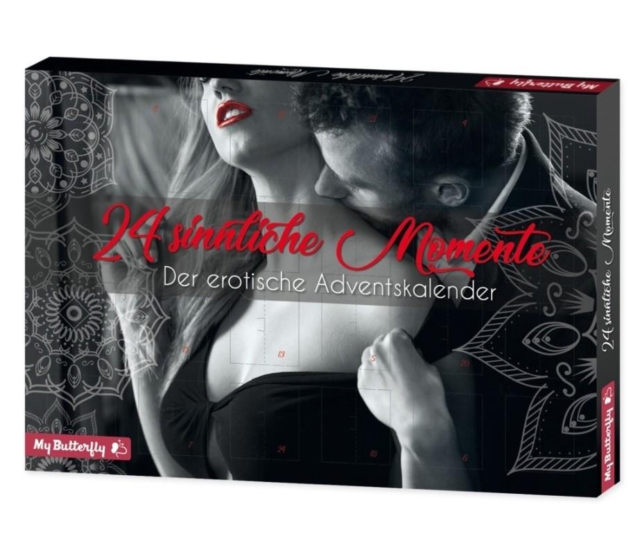 Erotik-Adventskalender Motiv: 24 sinnliche Momente