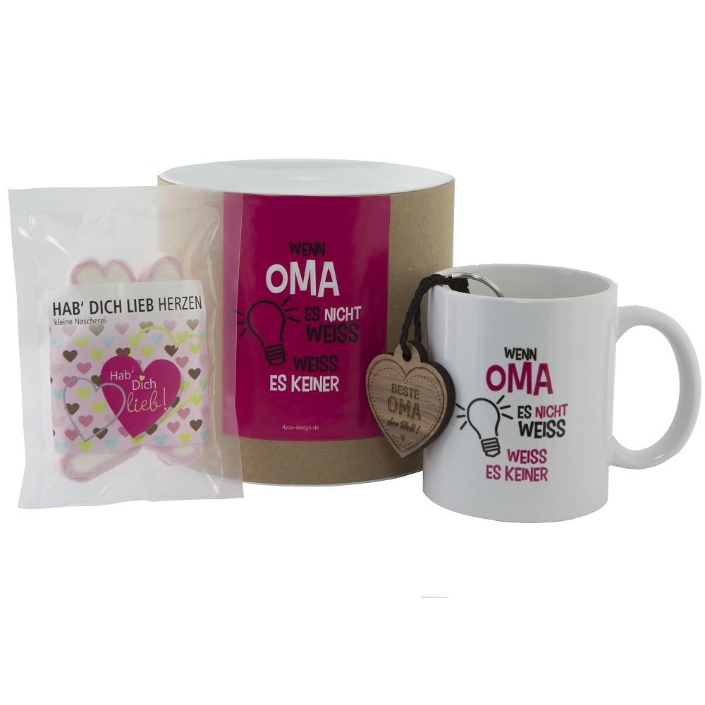 Geschenkset für Omas / Mütter