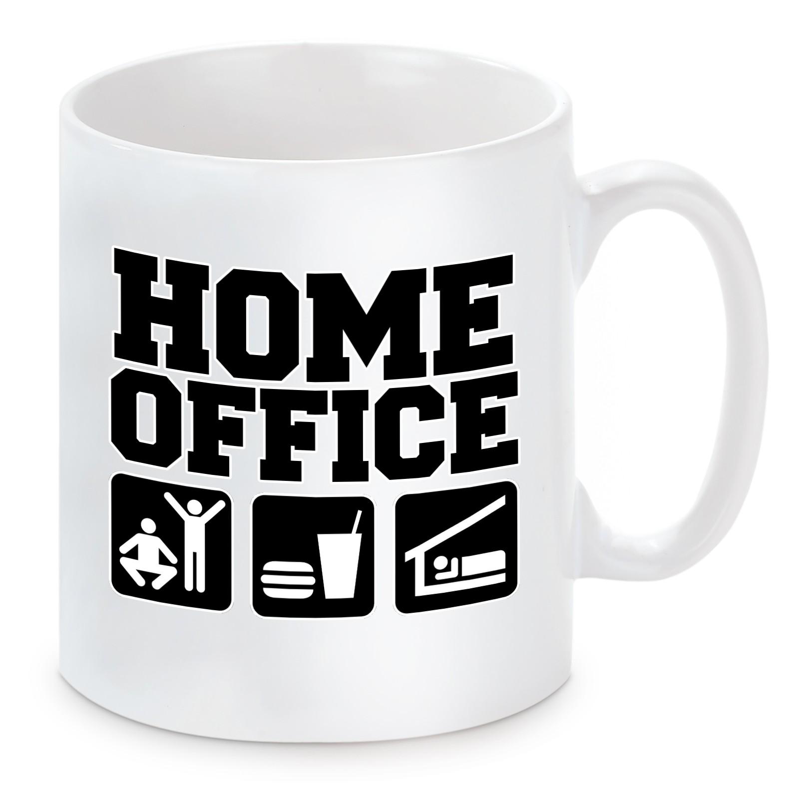 Tasse mit Motiv - Home Office