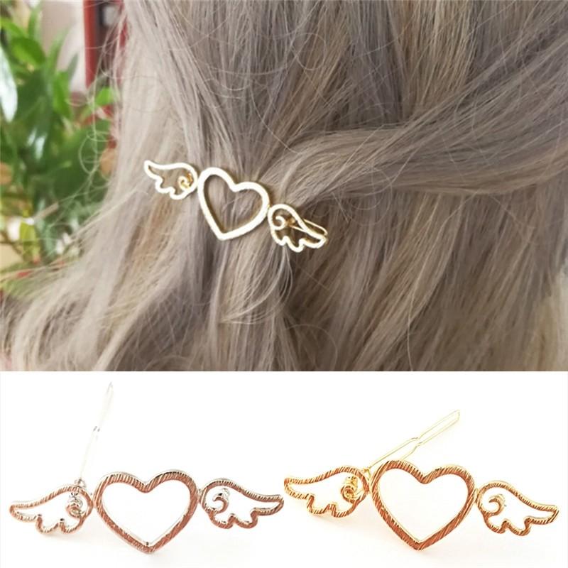 Haarspange Modell Herz