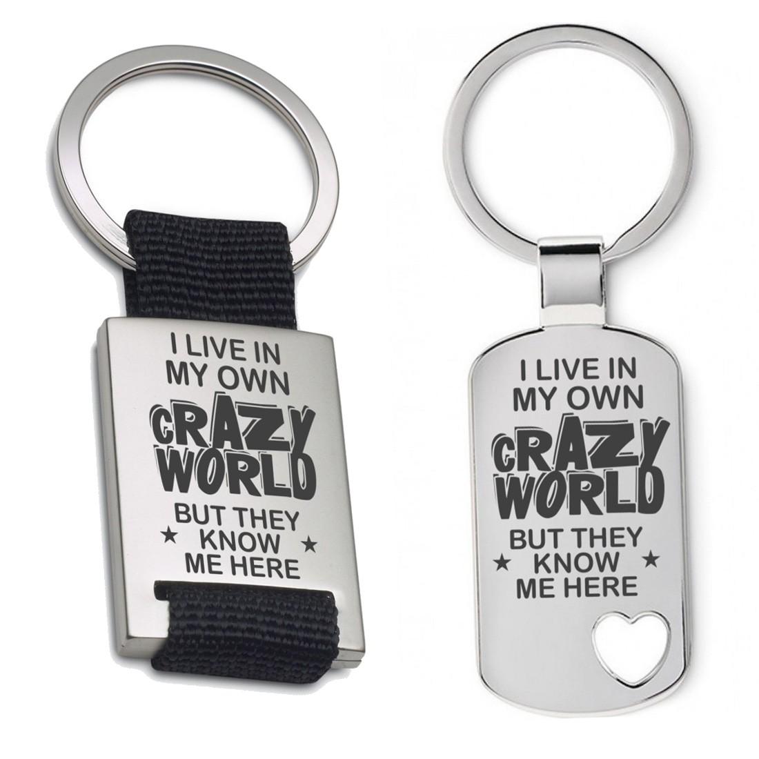 Schlüsselanhänger: My own crazy world