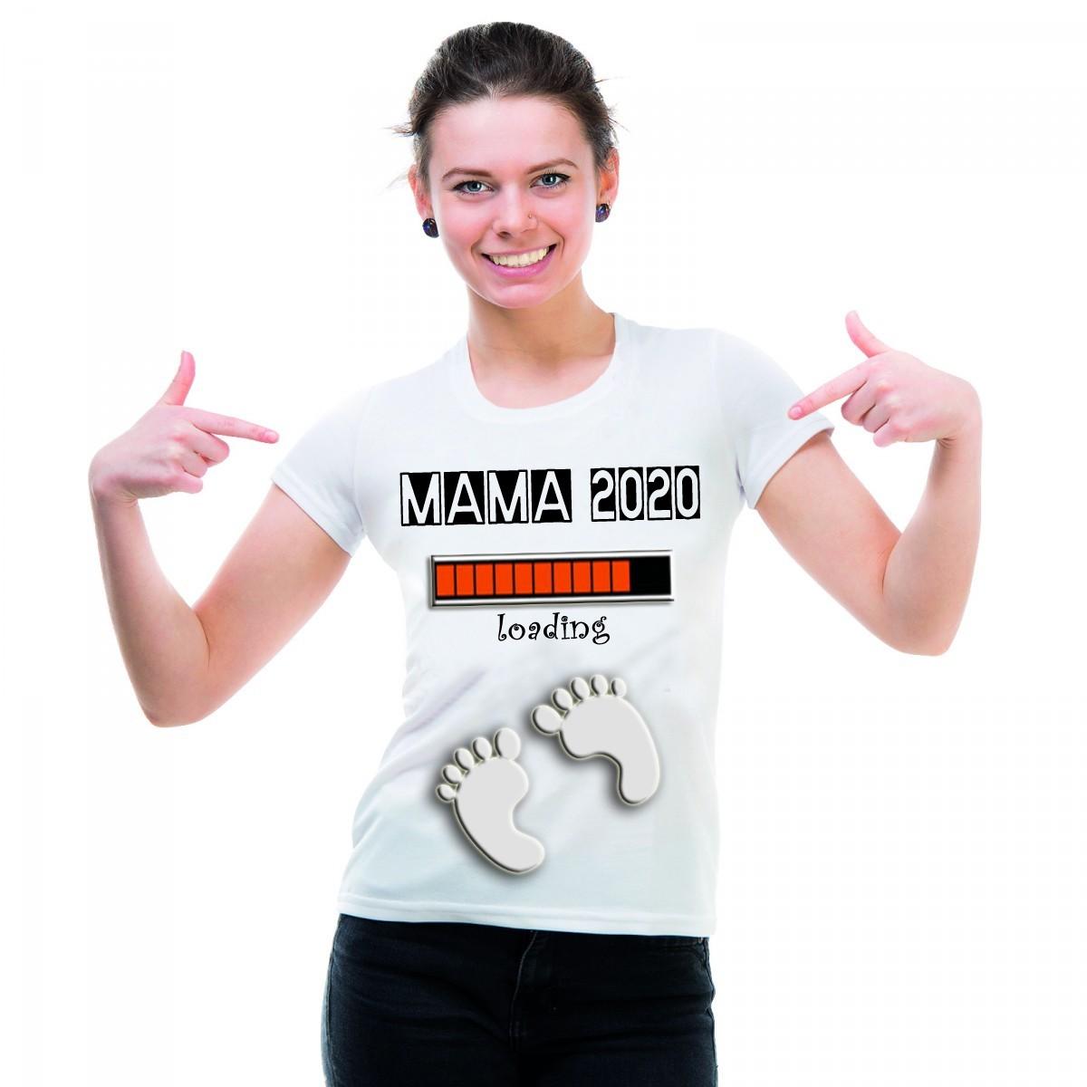 Funshirt weiß oder schwarz, als Tanktop oder Shirt - Mama 2020